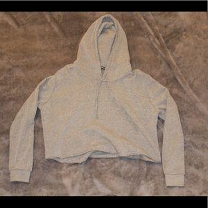 Grey Brandy Melville hoodie